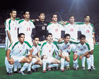 Iranian National Football (Soccer) Team, Year 2001
